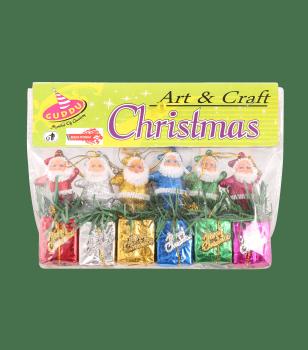 Santa on Gift Box