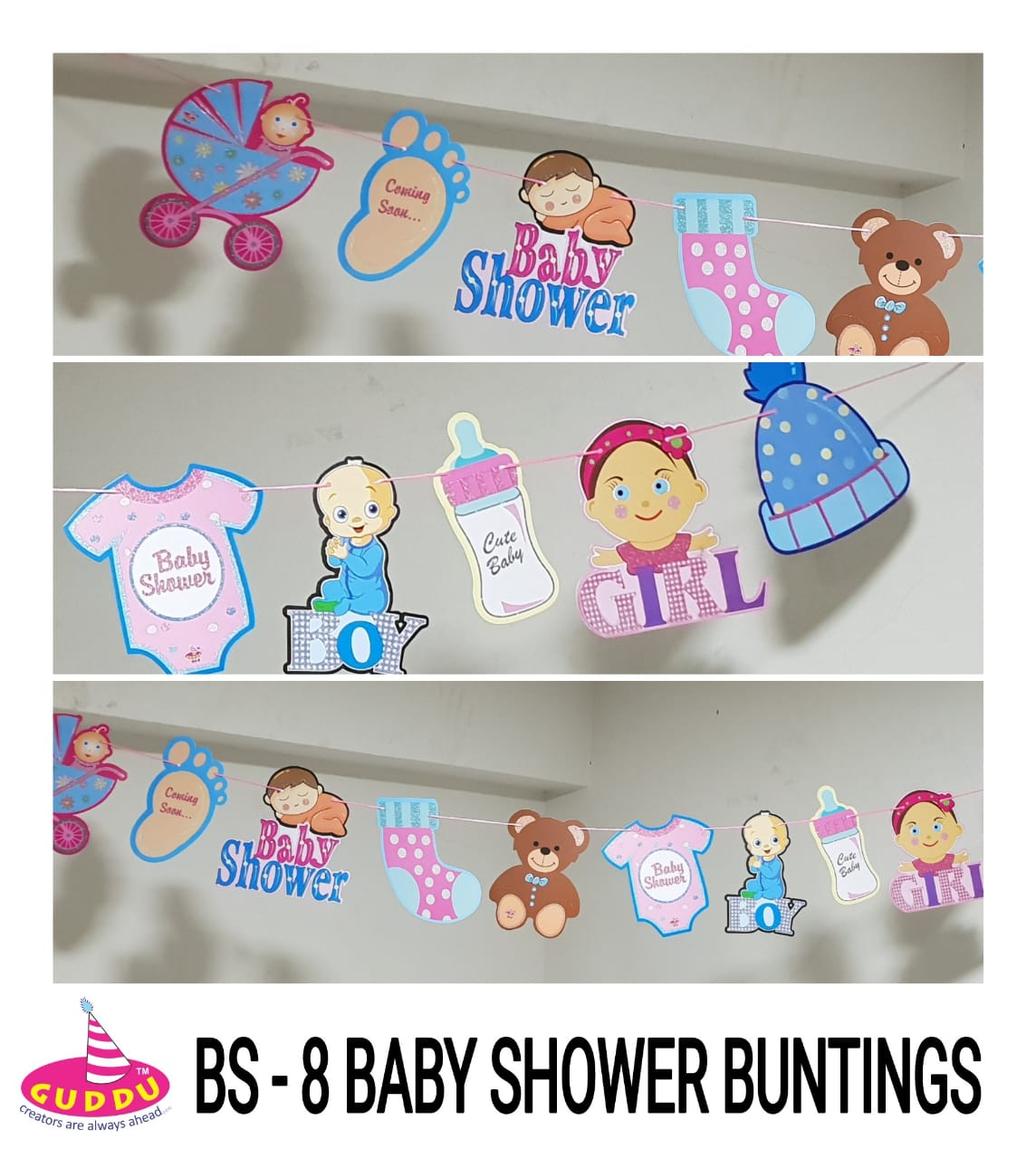 Baby Shower Buntings