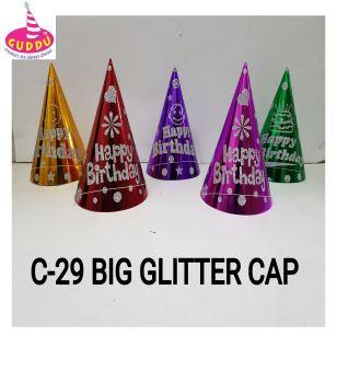 Big Glitter Cap