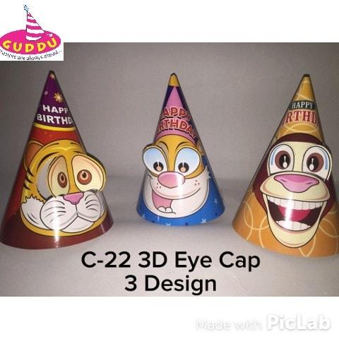 Birthday Eye Cap