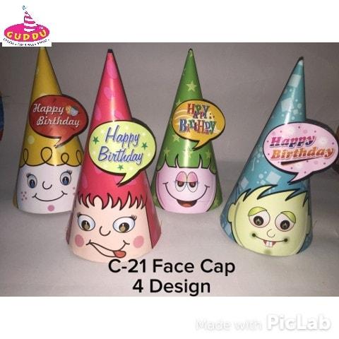 Birthday Face Cap