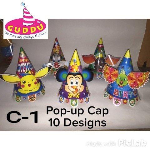 Pop up Cap