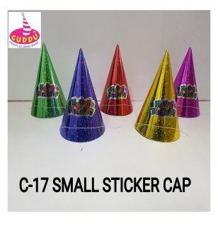Small Sticker Cap