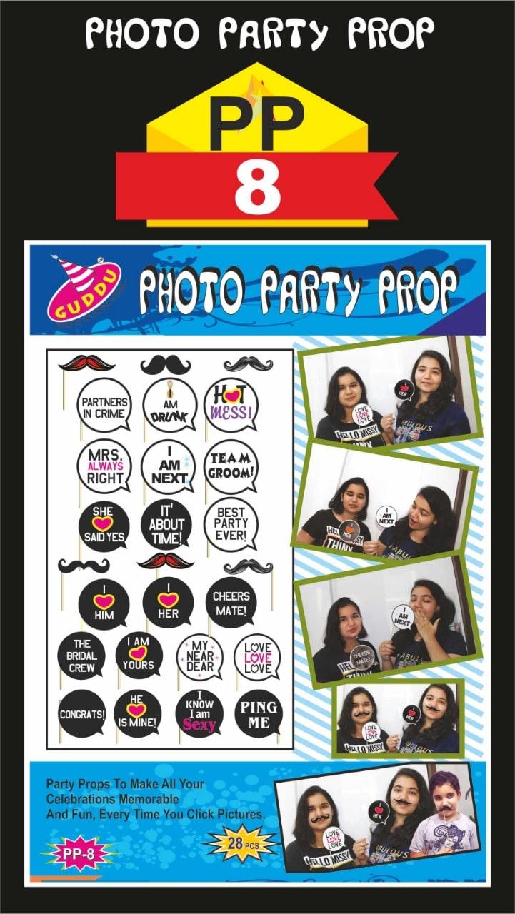 Photo Party Prop